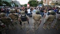 ارتش لبنان معترضان را بهشکل مسالمتآمیز از ساختمان وزارت خارجه خارج کرد