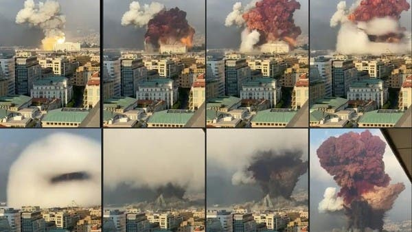 Beirut blast is the most tragic: 6 explosions, fires around the ...