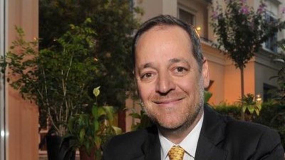 Marwan Kheireddine, chairman and CEO of Al Mawarid bank in Lebanon. (Twitter)