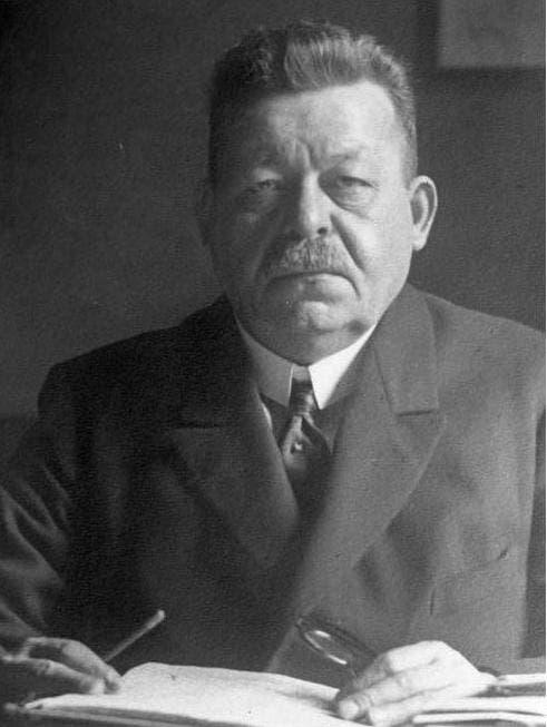 صورة للرئيس الألماني فريدريش إيبرت
