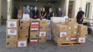 مصر تواصل إرسال المساعدات العاجلة إلى لبنان