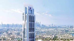 ناطحة سحاب عربية توفر 890 مسكناً جديداً