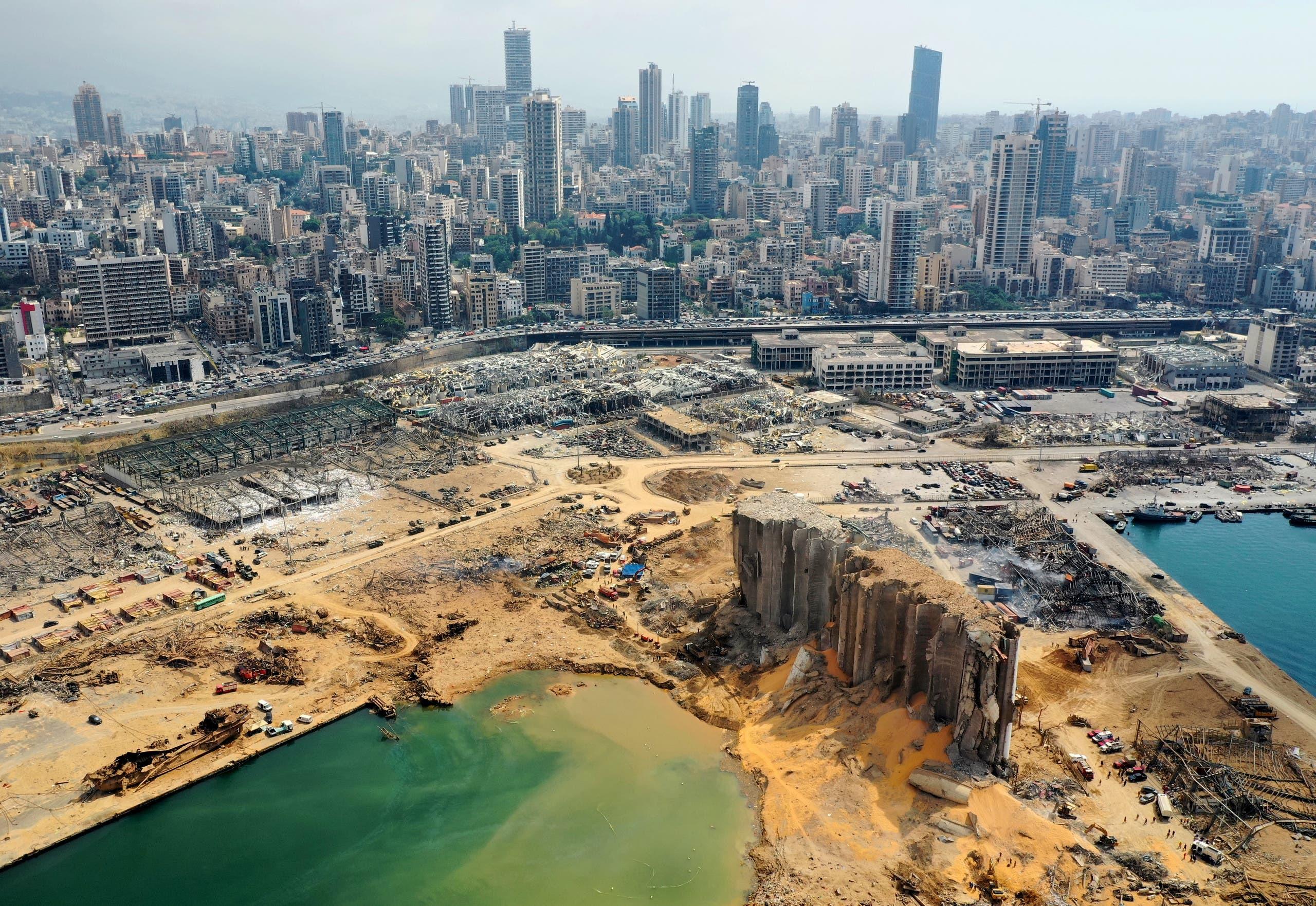 انفجار مرفأ بيروت عمق مصاعب لبنان الاقتصادية المزمنة
