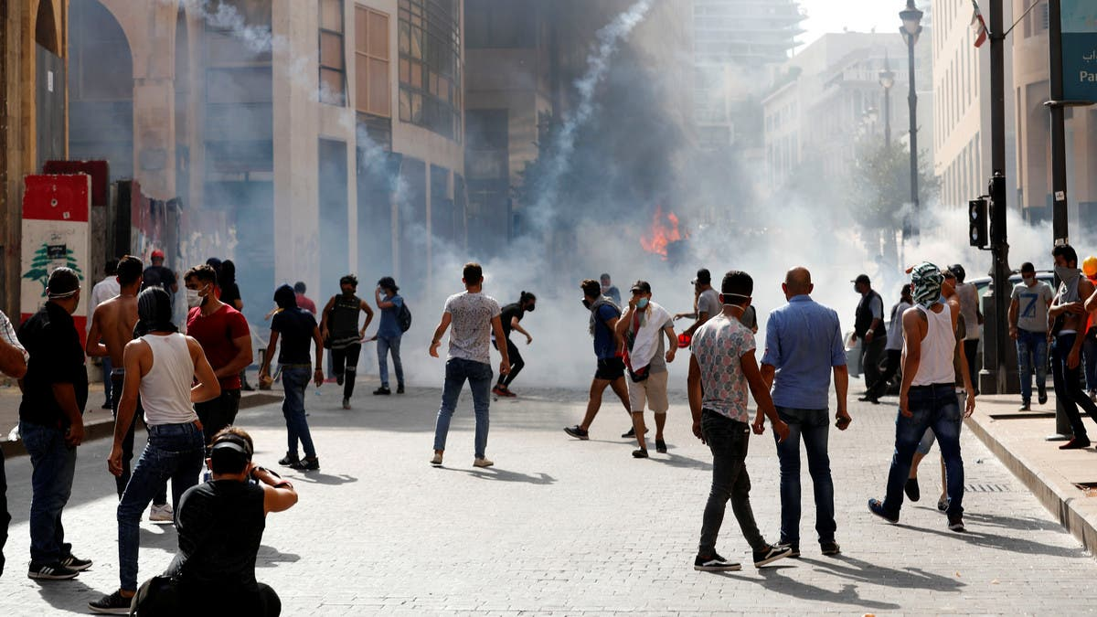 Lebanese protesters clash with security forces in Beirut, some injuries reported thumbnail