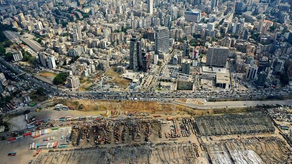 """بعد """"انفجار الموت"""".. شاهد """"قلب لبنان"""" يتحول رماداً"""