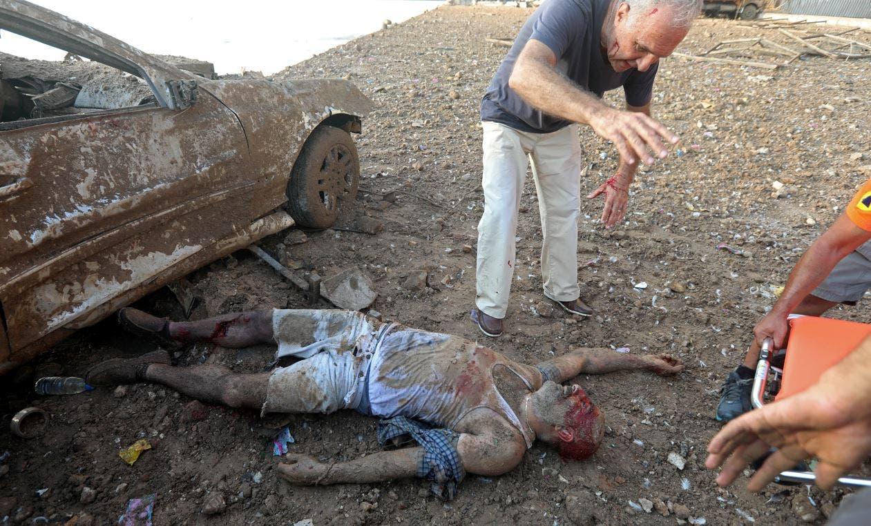صورة من انفجار لبنان