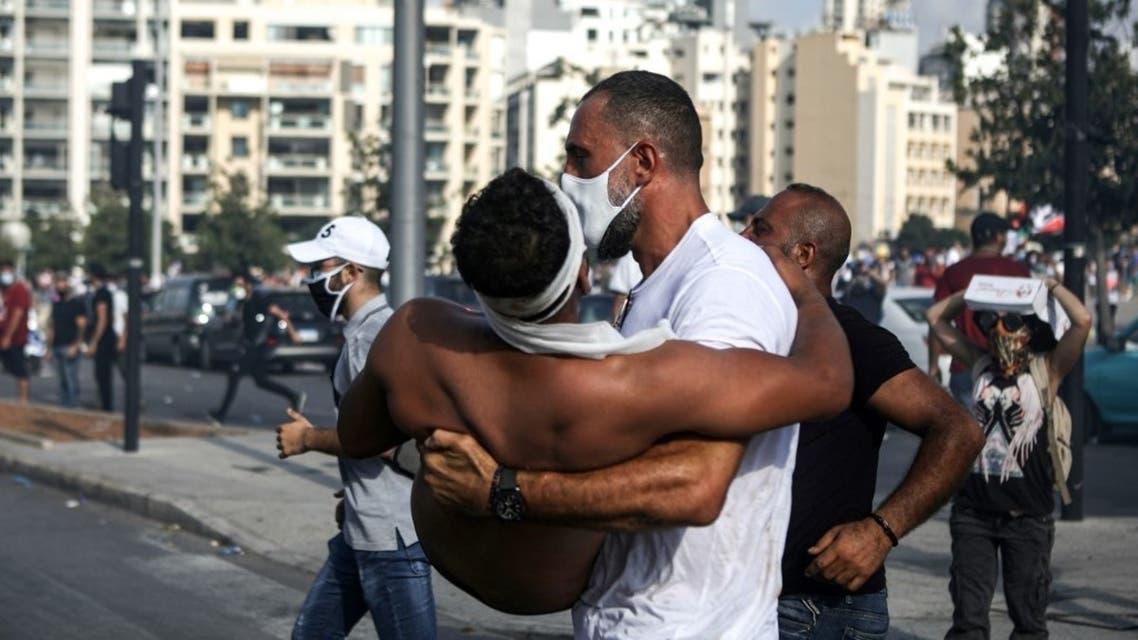 مظاهرات بيروت 8 اغسطس 2020
