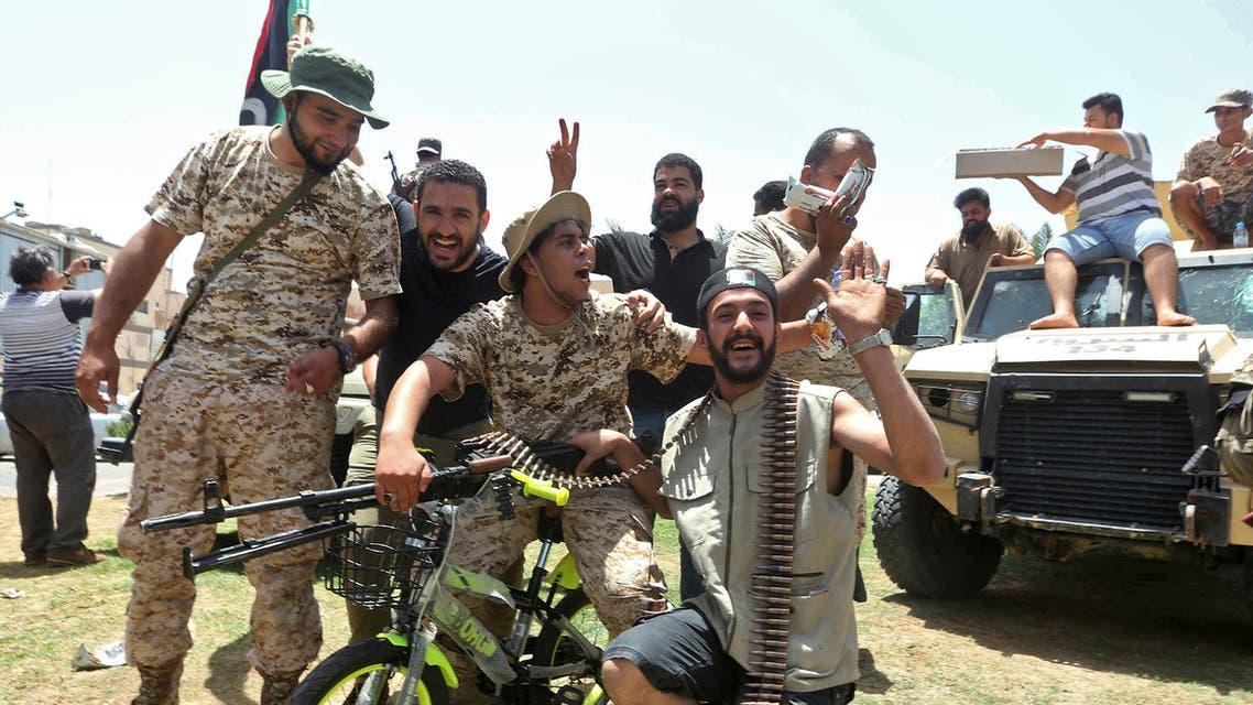 عناصر موالية لقوات الوفاق الليبية - فرانس برس