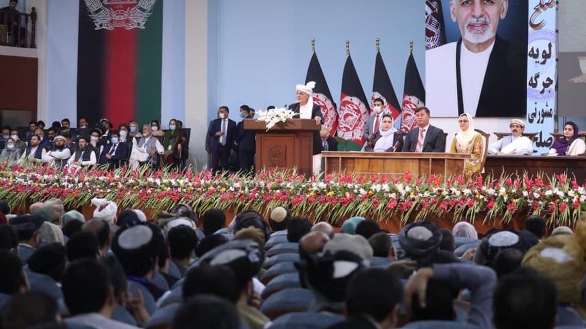 لویه جرگه مشورتی افغانستان پایان یافت؛غنی حکم رهایی 400زندانی طالبان را امضا میکند