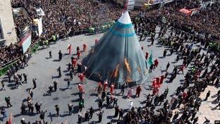 إيران تواجه موجة وباء ثالثة بسبب الاحتفالات الدينية