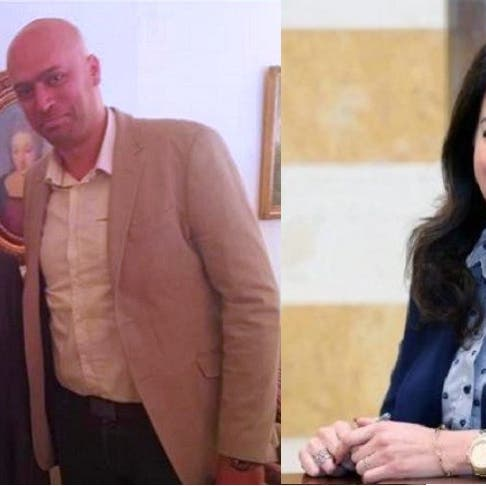 شاهد شقيق وزيرة لبنانية يهدد بحرق محطة تلفزيون