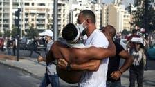 لبنان میں 'العربیہ' کا فوٹو گرافر مظاہروں کی براہ راست کوریج کے دوران زخمی
