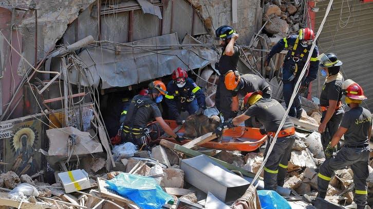 الجيش اللبناني: الأمل ضئيل بالعثور على ناجين في المرفأ
