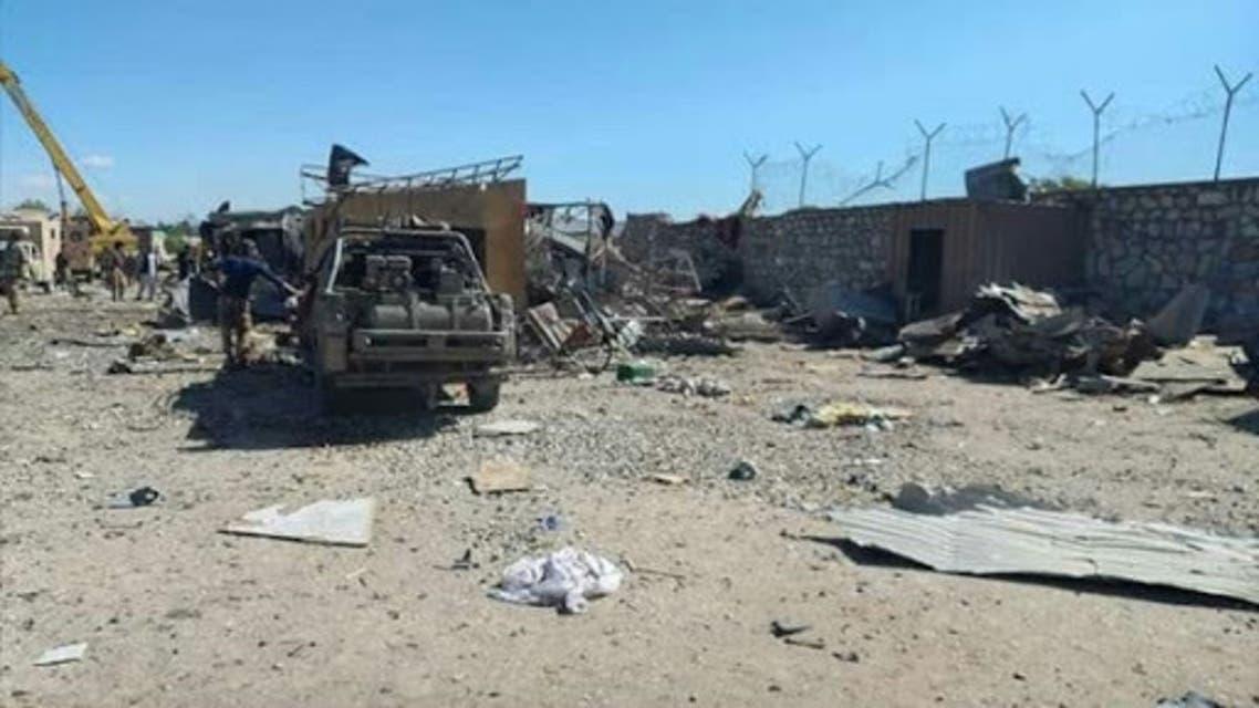 انفجار موتر بمبگذاری شده در غزنی افغانستان؛ 7 کشته و 16 زخمی برجای گذاشت