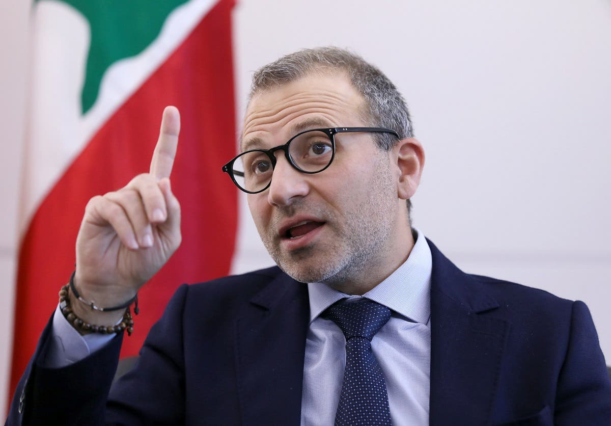 Gebran Bassil, head of the Free Patriotic movement, talks during an interview with Reuters in Lebanon. (File Photo: Reuters)