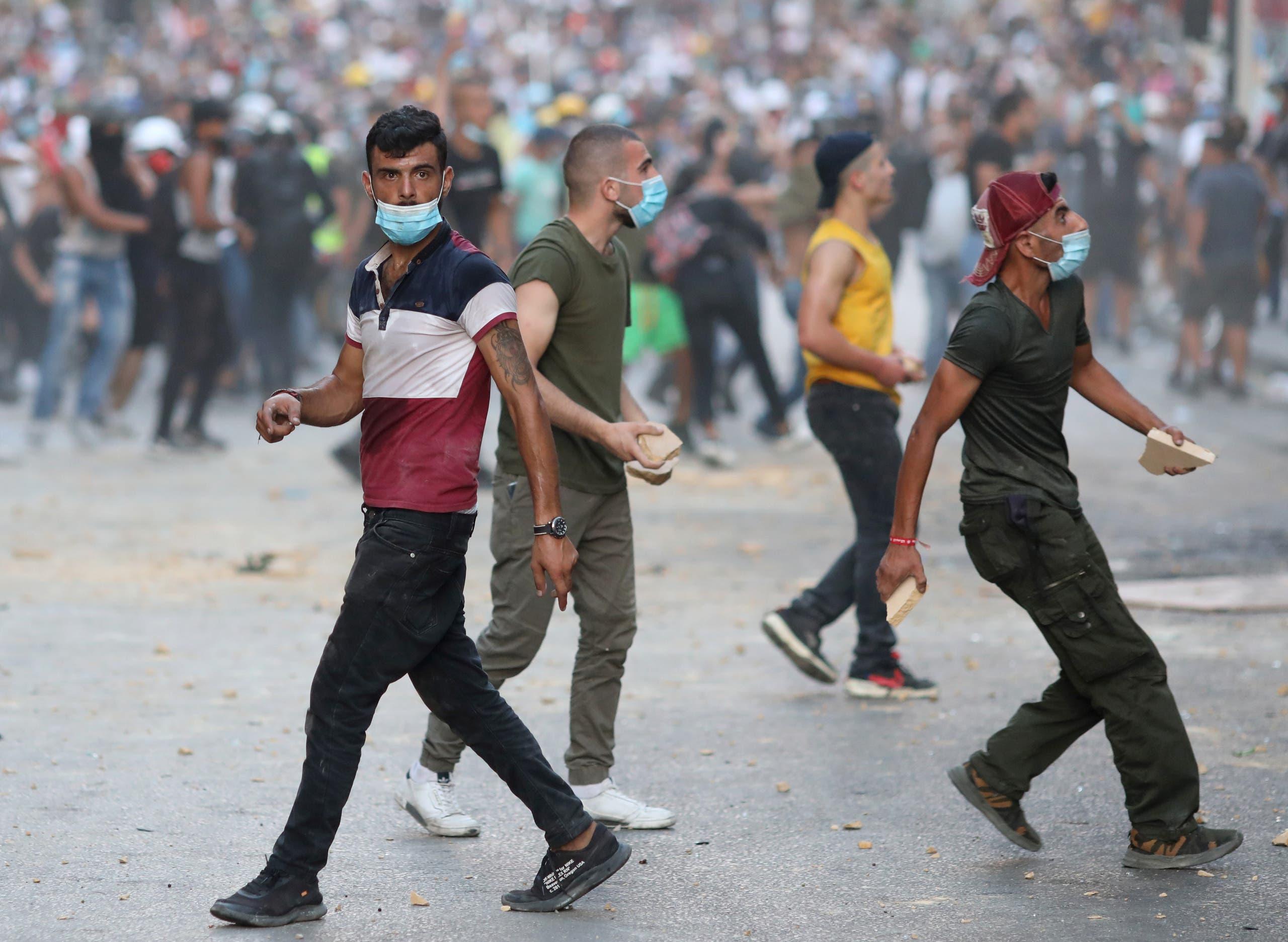 من الاحتجاجات اللبنانية