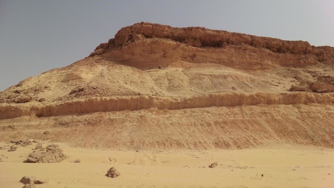 جبال شمال السعودية
