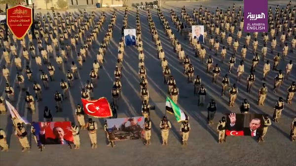 Turkish-backed Syrian militia shoots video in Libya, praises Erdogan for Hagia Sophia