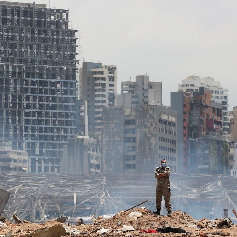 25 شخصاً موقوفون في انفجار بيروت.. بينهم مسؤول بالمخابرات