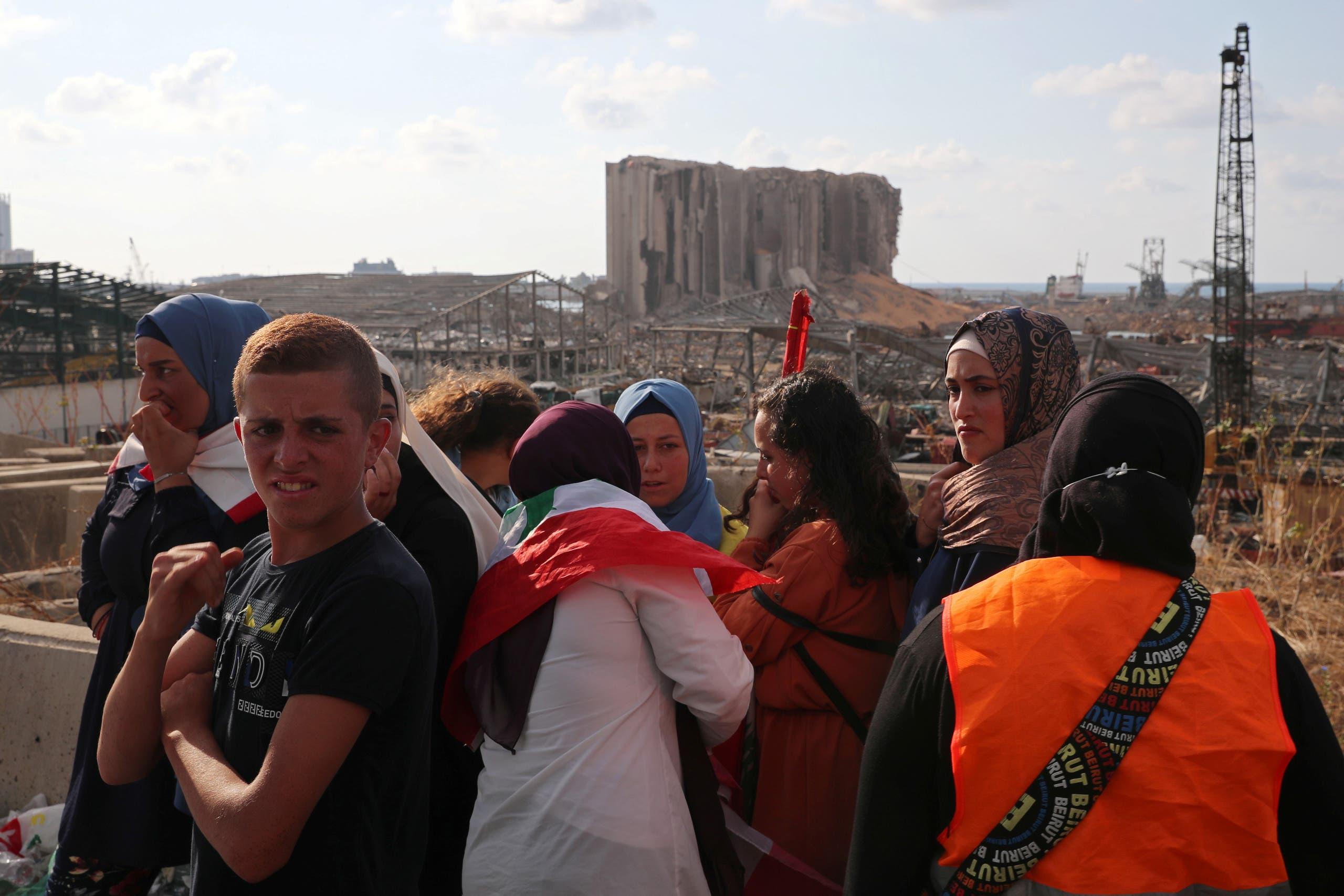 من مرفأ بيروت يوم 11 أغسطس