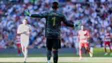 ريال مدريد يعيد الحارس أريولا إلى باريس سان جيرمان