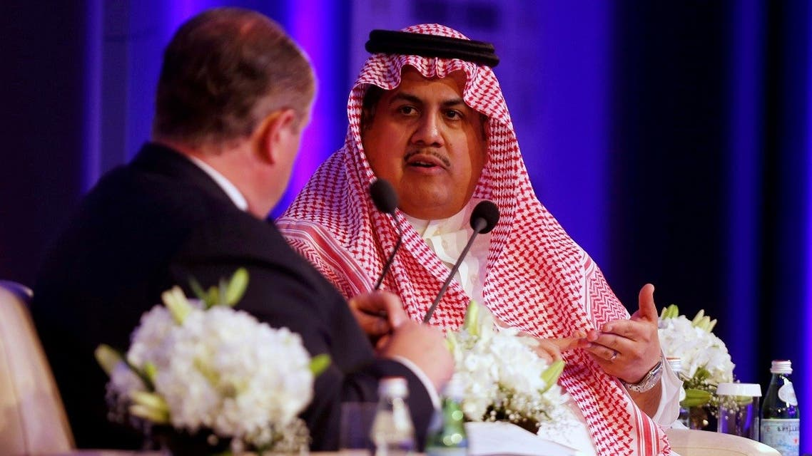 Chief Executive Officer of the Saudi Stock Exchange (Tadawul) Khalid al-Hussan gestures during Euromoney Conference in Riyadh, Saudi Arabia May 3, 2016. REUTERS