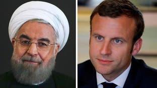 هشدار مکرون به روحانی: دخالت خارجی در لبنان باید پایان گیرد