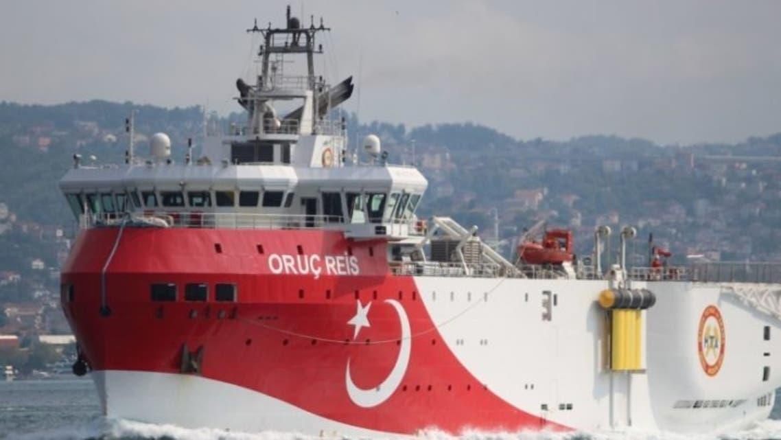 السفينة أوروتش رايس التركية