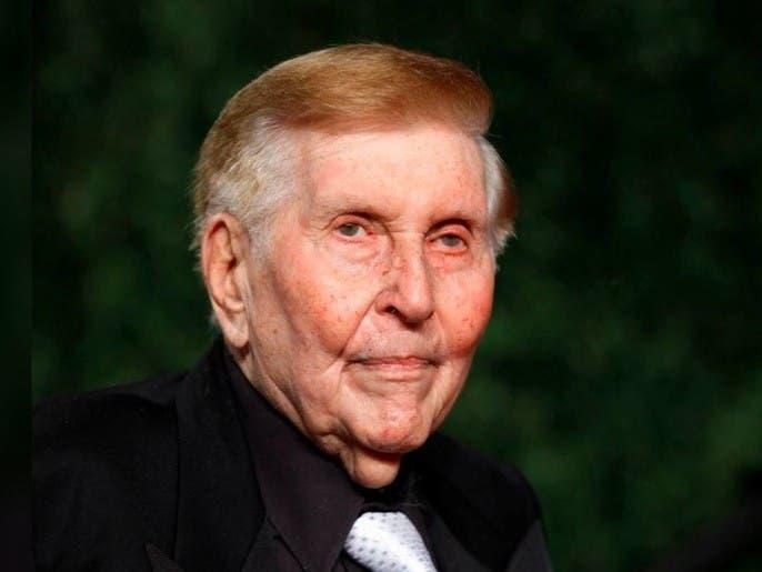 وفاة قطب الإعلام الأميركي الملياردير ريدستون عن 97 عاما