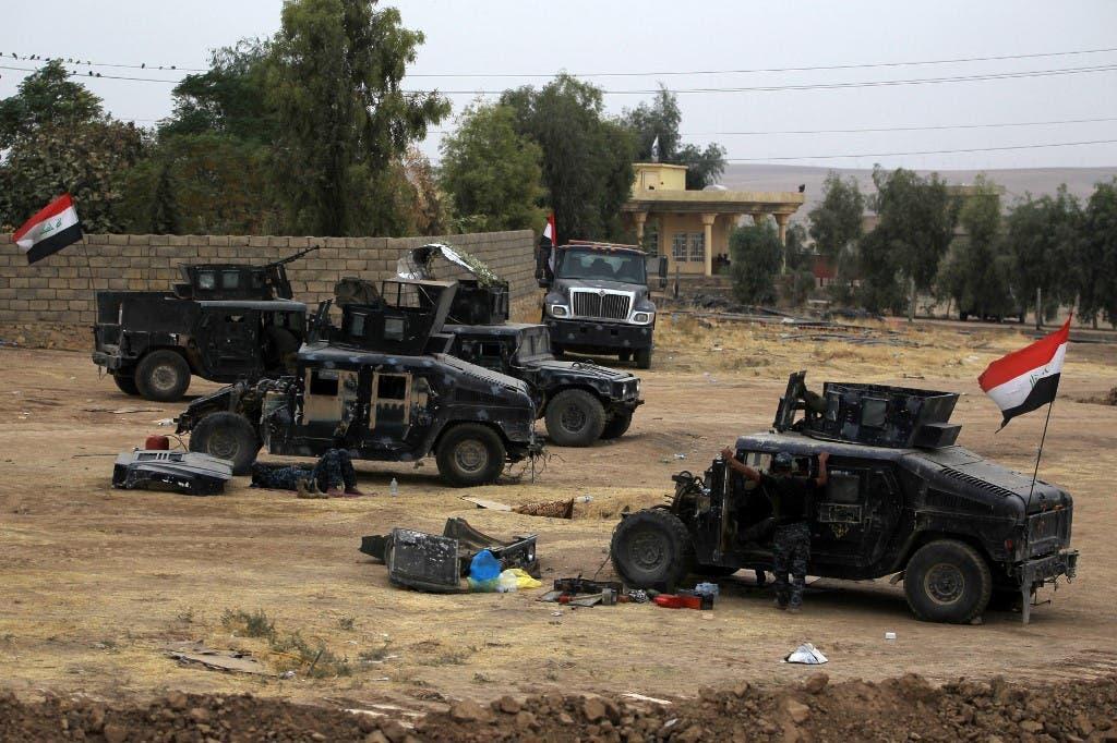 الجيش العراقي على الحدود العراقية التركية - أرشيفية
