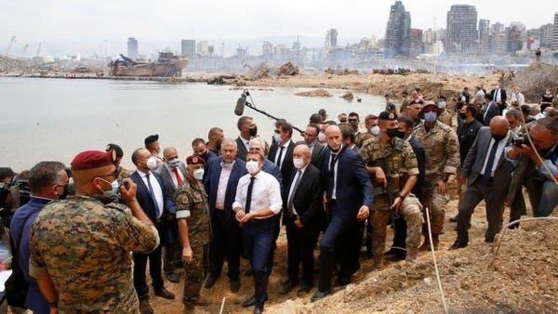French President Beirut