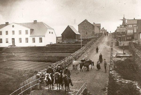 صورة من ريكيافيك أواخر القرن 19