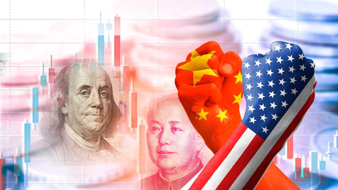 الصين أميركا ( )Istock