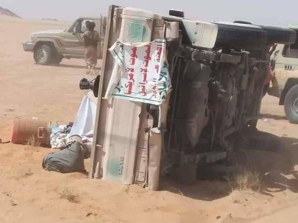 إسقاط طائرة مفخخة حوثية وتحرير مواقع شرق صنعاء