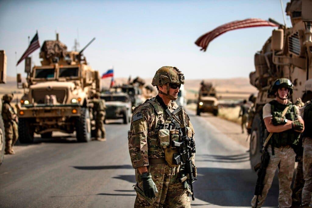 قوات أميركية وروسية في سوريا