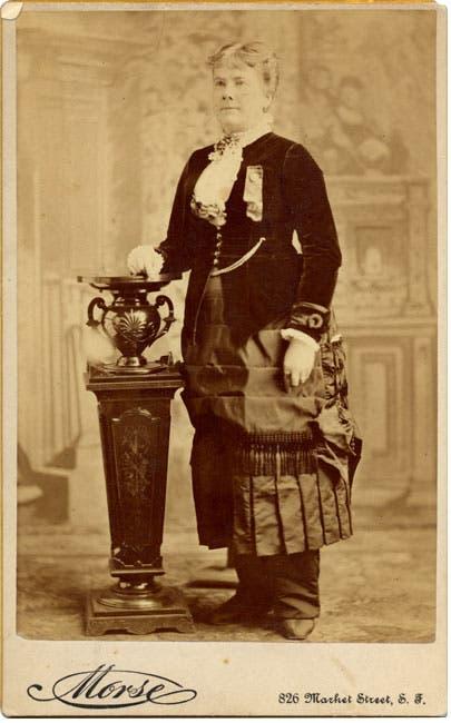 صورة للمرشحة لمنصب نائب الرئيس مارييتا ستو
