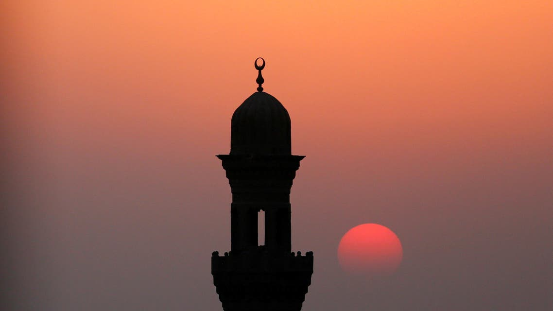 A minaret of a mosque is pictured during sunset on the first day of the New Islamic Hijri year in Cairo, Egypt in 2016. (File photo: Reuters)