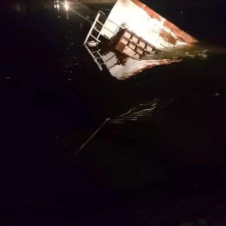 مصر.. شاهد غرق عبارة نيلية بركابها في حادث مأساوي