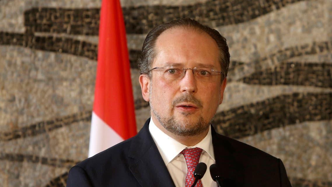Austrian Foreign Minister Alexander Schallenberg. (AP)