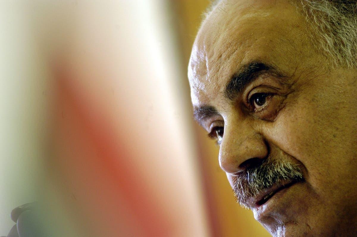 Palestinian Ambassador Salman El Herfi pictured in August 2005. (File photo: AFP)
