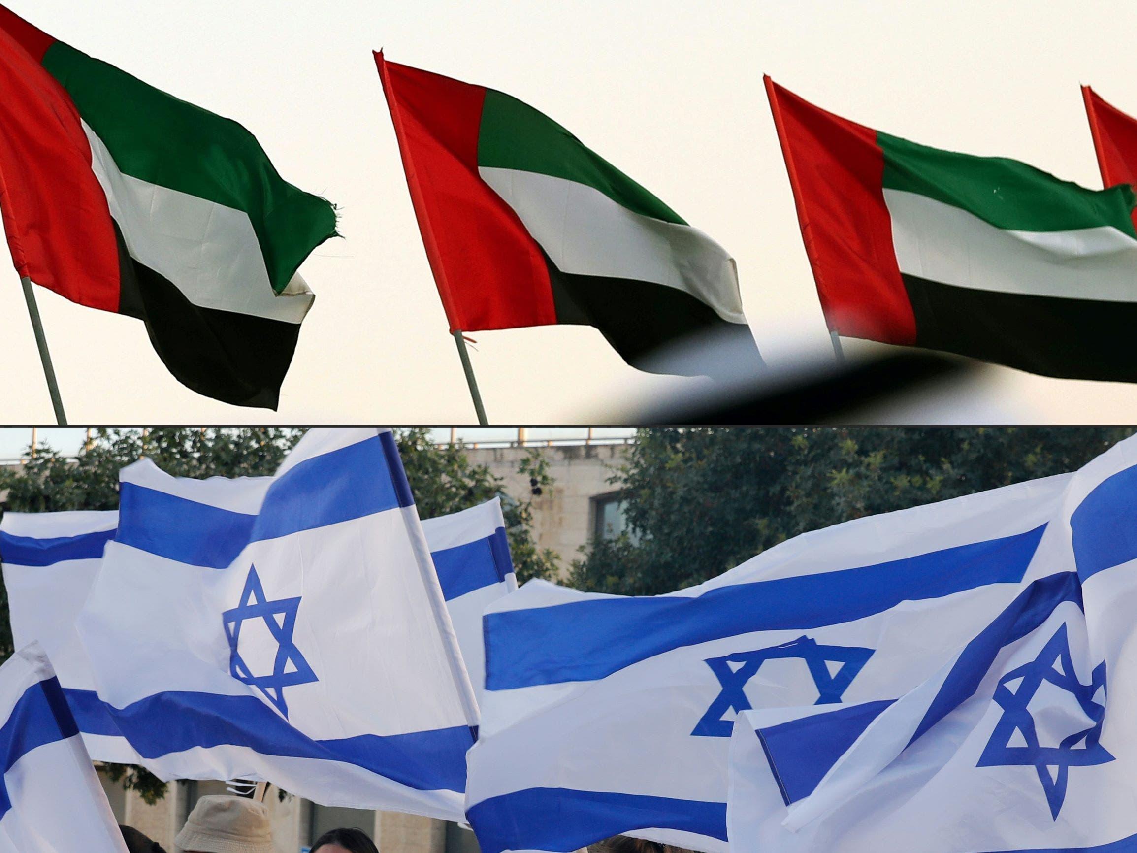 العلمان الإماراتي والإسرائيلي