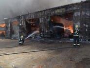 مدني الرياض يحقق فيحريق محال للخيام بالجنادرية