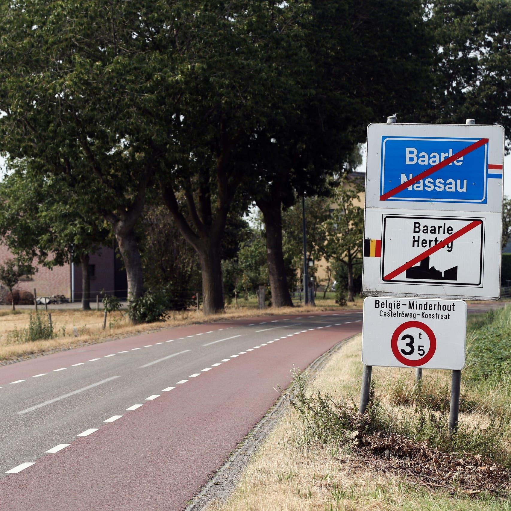 معضلة في بلدتين متداخلتين بين هولندا وبلجيكا بزمن كورونا