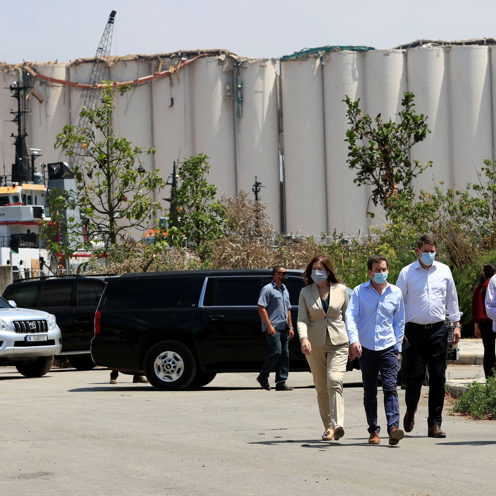 واشنطن: نريد أن نضمن تحقيقاً شفافاً وشاملاً بانفجار بيروت