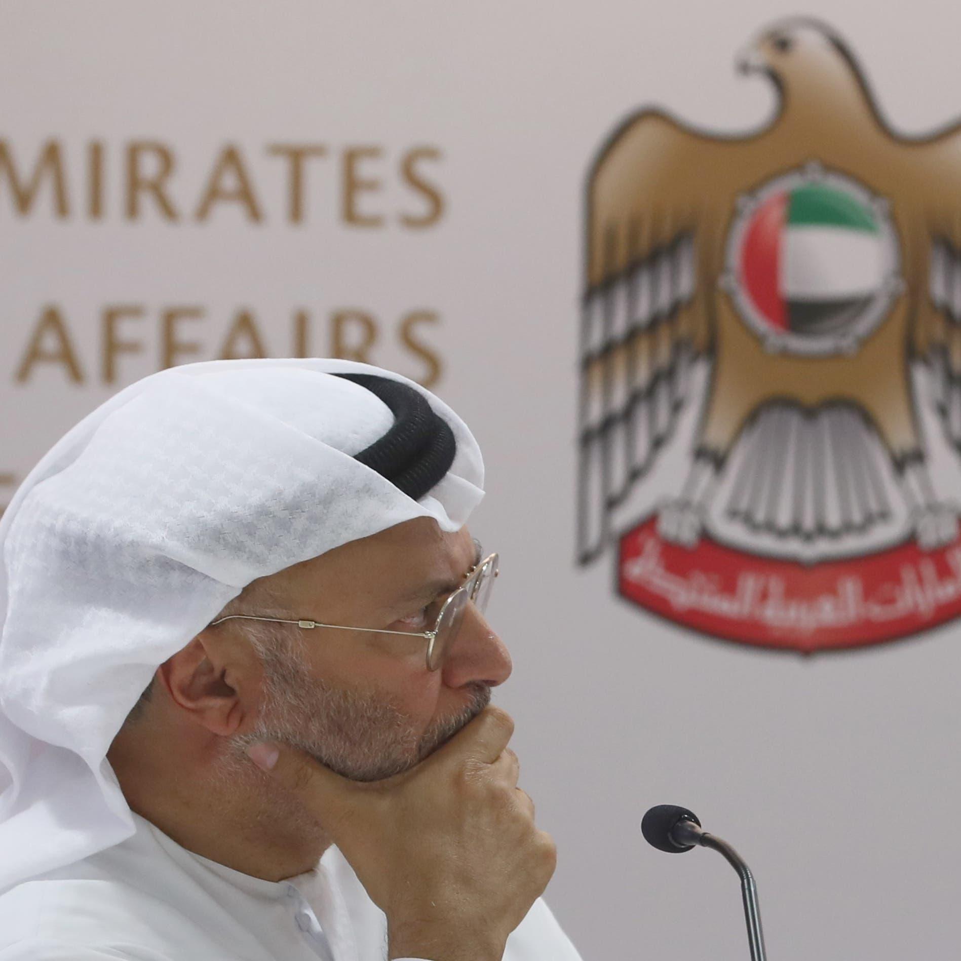 قرقاش: اتفاق الإمارات وإسرائيل قرار سيادي ليس ضد إيران