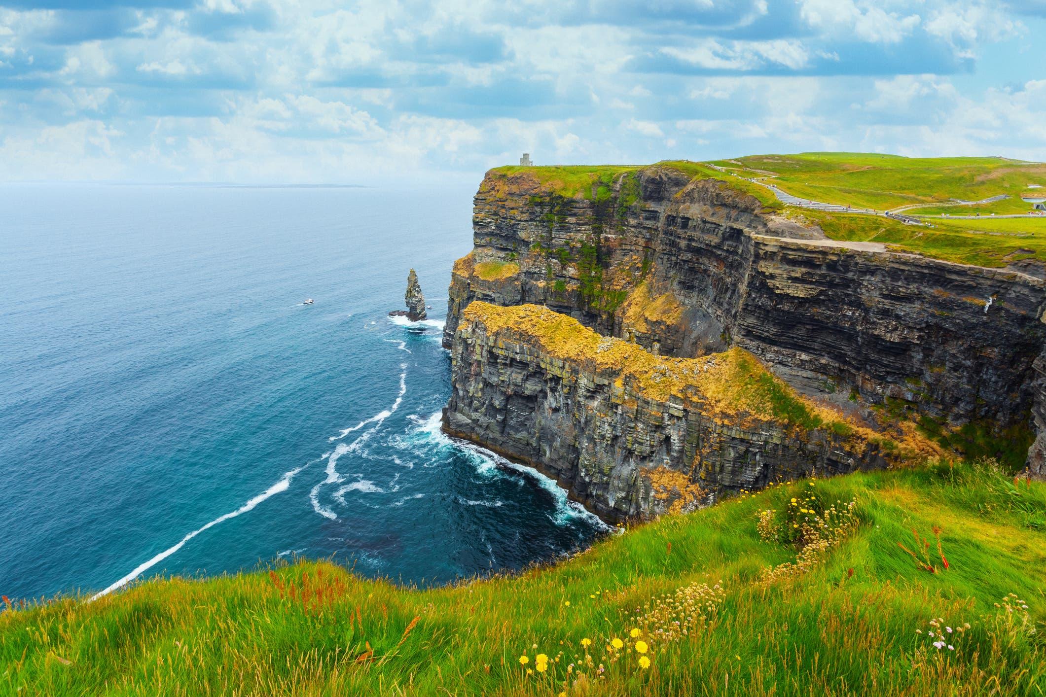 معلم سياحي في ايرلندا