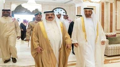 الملك حمد للشيخ محمد بن زايد: الاتفاق خطوة تاريخية للسلام بالمنطقة