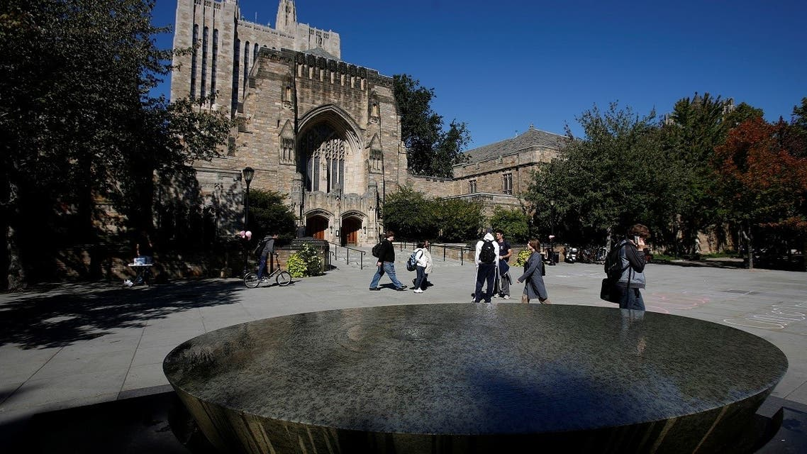 Students walk on the campus of Yale University in New Haven, Connecticut. (File photo: Reuters)