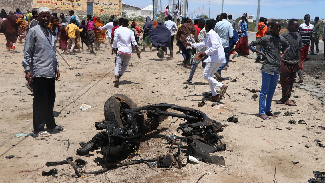 تفجير في العاصمة الصومالية مقديشو (أرشيفية)