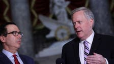 White House chief of staff Meadows says he accepts Harris eligible for VP